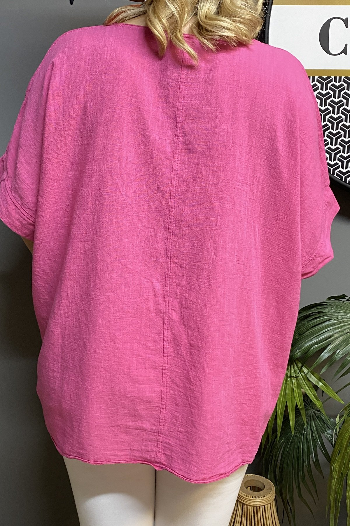Tüy Detaylı Bluz